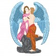 Royalty-Free Stock Immagine Vettoriale: Angel in love