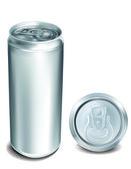 Aluminum Can — Stock Vector