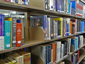 Library Books — Stock Photo