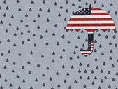 Gråter för amerika — Stockfoto