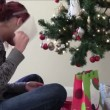 Stok video: Christmas Anticipation