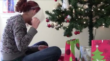 Christmas Anticipation — Stockvideo