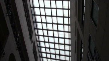 Hospital Atrium — Stock Video