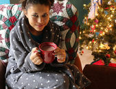 Christmas Relaxation — Stock Photo