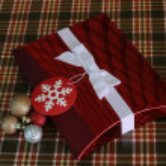 Red Christmas Box — Stock Photo #38008227