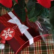 Red Christmas Box — Stock Photo #38008167