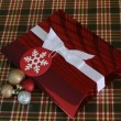 Red Christmas Box — Stock Photo #38008301