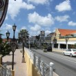 Stock Photo: Street in Aruba