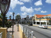 Street in Aruba — Stock Photo