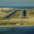 Bahrain Runway 30R/L 2009 - Stock Photo