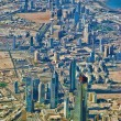 Kuwait city skyline — Stock Photo