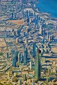 Kuwait city skyline — Stock Photo