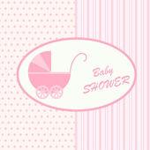Card for newborn — Stock Vector