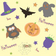Seamless background for halloween — Stock Vector