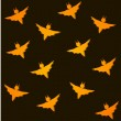 Seamless background for halloween with bats — Stock Vector #32763983