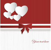 Valentines day card — Stock Vector