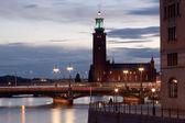 Stockholm, City of water. Capital of Scandinavia — Stock Photo