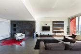 现代住宅室内 — 图库照片