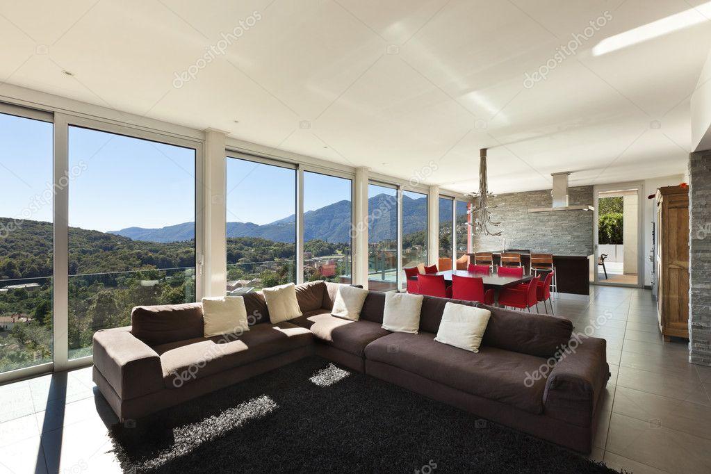 modernes haus innen stockfoto zveiger 20348085. Black Bedroom Furniture Sets. Home Design Ideas