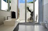 Modern house interior — Stock Photo
