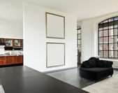 Wnętrze domu, pokój dzienny — Zdjęcie stockowe