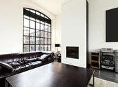 Interior home, living room — Stock Photo
