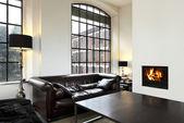 Interiér domů, obývací pokoj — Stock fotografie