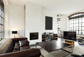 Interior home, living room — 图库照片