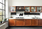 Cocina casera, interior — Foto de Stock