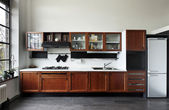インテリア ホーム、キッチン — ストック写真
