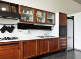 Interior home, kitchen — Stock Photo