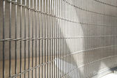 стальная решетка — Стоковое фото