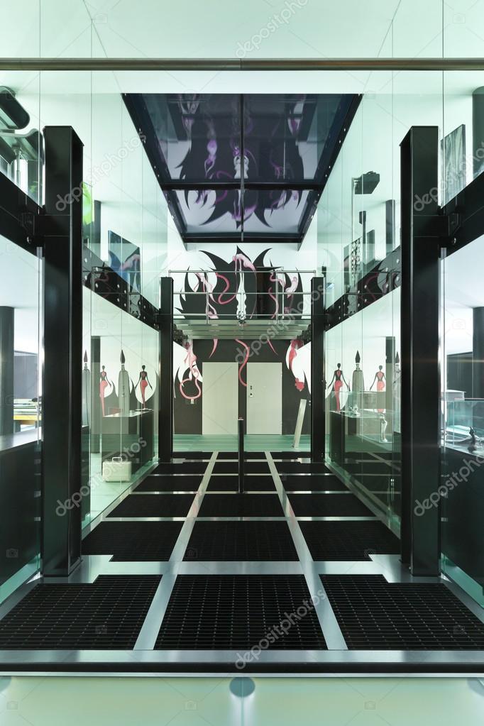 Interieur moderne loft per nacht stockfoto zveiger 23566769 - Moderne interieurarchitectuur ...