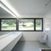Modern bathroom — Stock fotografie