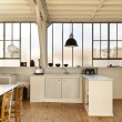 Old loft, interior — Stock Photo