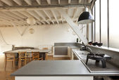 Old loft, interior — Stock Photo