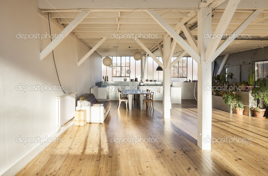 Alte loft interieur stockfoto zveiger 28604423 for Interieur loft