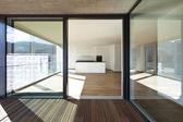 Interior, empty new apartment — Stock Photo