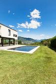 Villa moderna — Foto de Stock