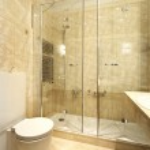 Appartamento di lusso interno, comodo bagno — Foto Stock