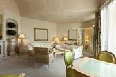 Interior luxury apartment, comfortable suite, lounge — Stock Photo