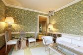 Interior luxury apartment, comfortable suit, lounge — Stock Photo