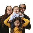 Family portrait — Stock Photo