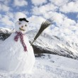 雪人 — 图库照片