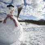 Snowman — Stock Photo #29869499