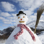 Snowman — Stock Photo #29870457