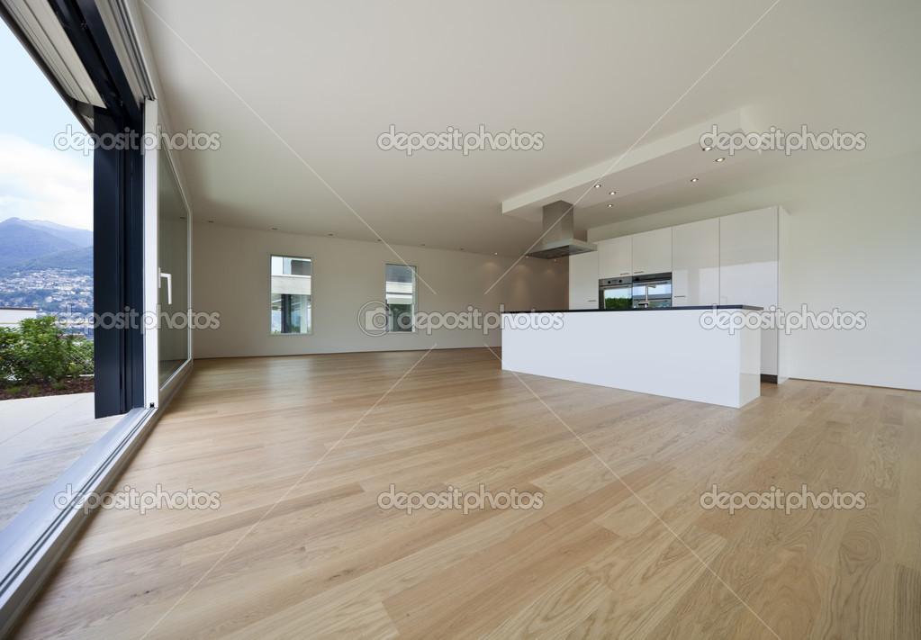 Mooi interieur van een modern huis — Stockfoto © Zveiger #30680795