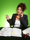 Woman manager — Stock Photo