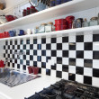 Tower, luxury residential apartments, detail kitchen — Foto Stock
