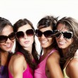 Portrait of young women at party — Stock Photo